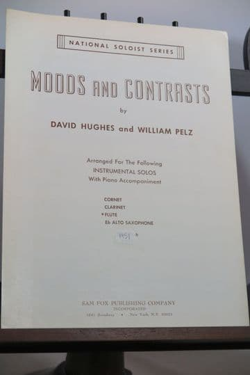 Hughes D & Pelz W - Moods and Contrasts for Flute & Piano